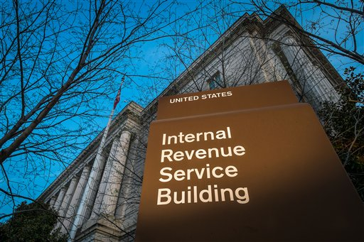 IRS building in Washington DC
