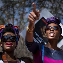 South African Women protest