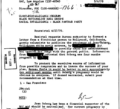 COINTELPRO Document
