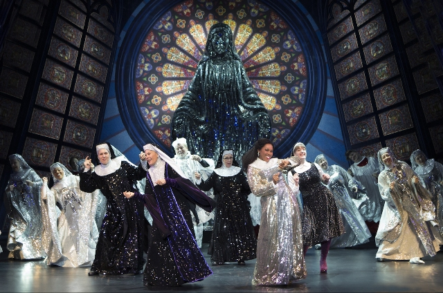 Ta'Rea Campbell in Sister Act: The Musical
