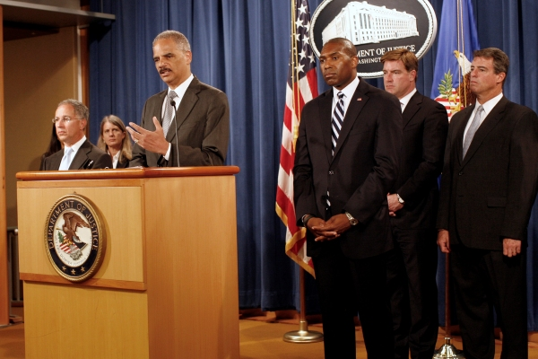 Holder announces the Bank of America settlement