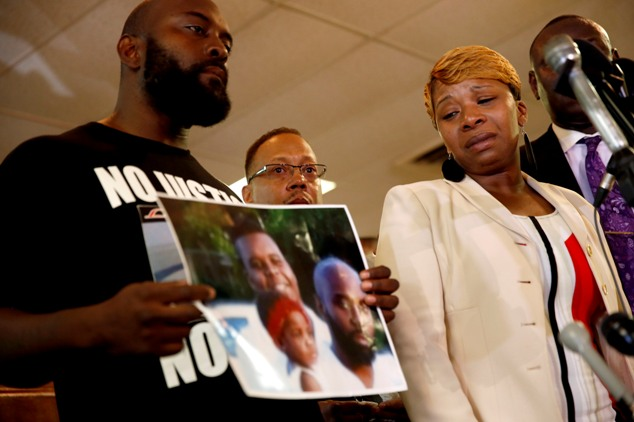 Michael Brown's parents