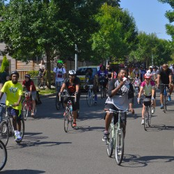 Community Cycling center event