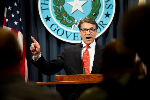 Gov. Rick Perry denies guilt