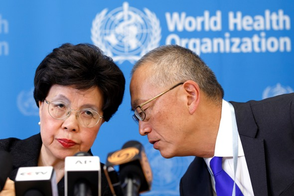 World Health Organization leaders