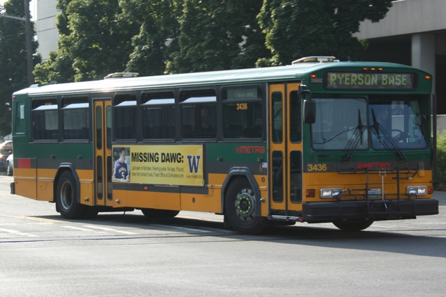 King County Metro Transit bus