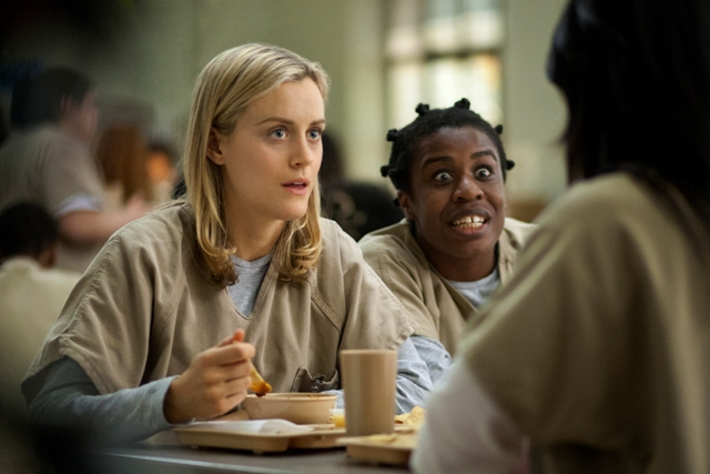 Taylor Schilling and Uzo Aduba from Orange Is the New Black