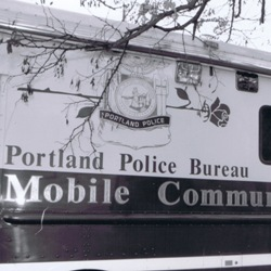 Portland Police Mobile Communications Unit
