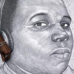 Michael brown drawing, Atlanta, GA