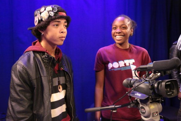 De-Gentrifying Youth learning video production skills at Portland Community Media