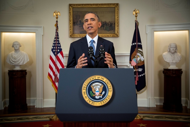 President Barack Obama announces changes to Cuba policy