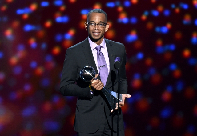 Stuart Scott wins ESPY Award