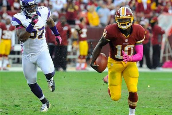 RG3 runs from 49ers