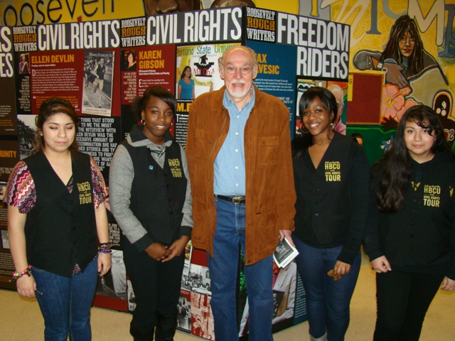 Roosevelt High School students' seminal Black history project on local 'Freedom Riders' is on display at the Oregon Historical Society