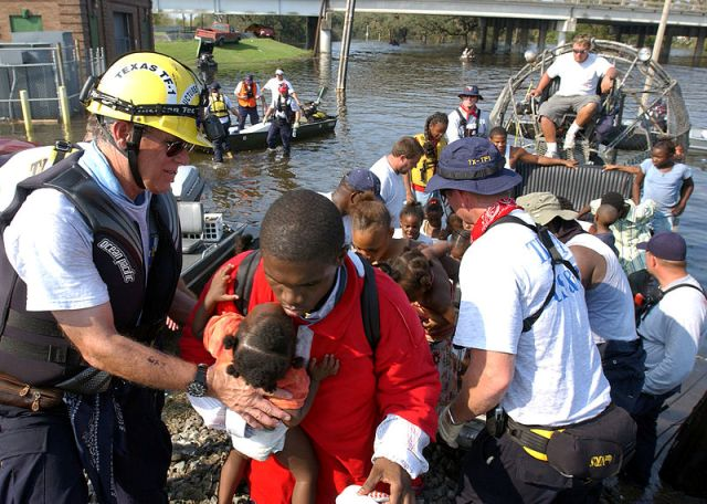 Flood disaster relief