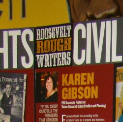 Roosevelt Rough Writers poster