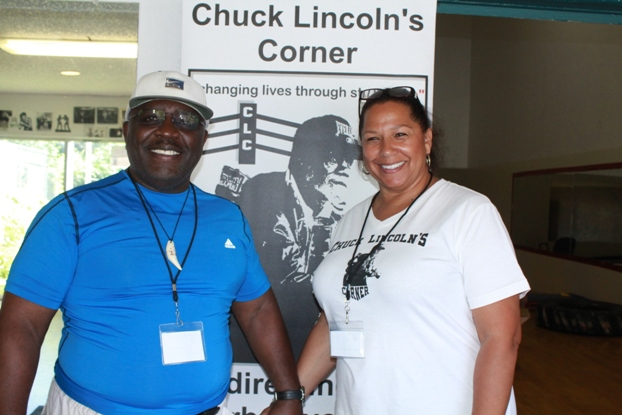 Roy Pitman and Charleen Lincoln