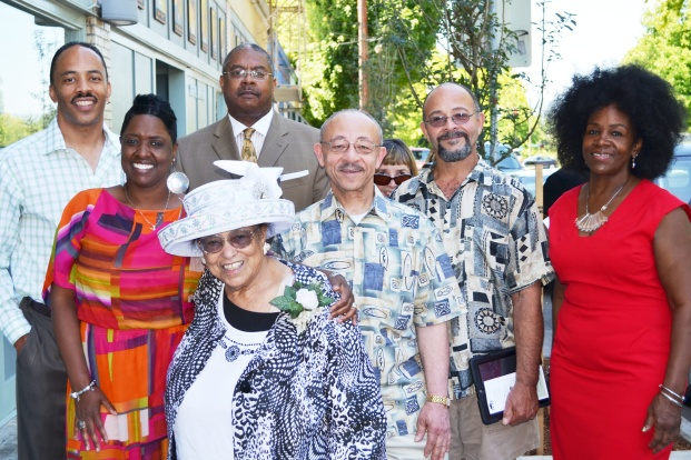 Pauline Bradford PCRI staff and honorees family members
