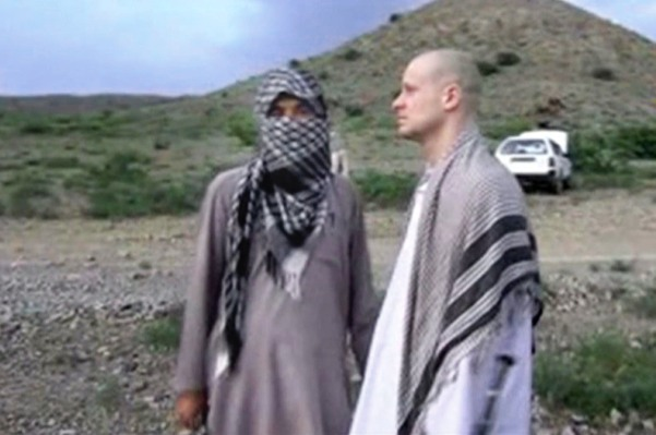 Image from Taliban video of handover