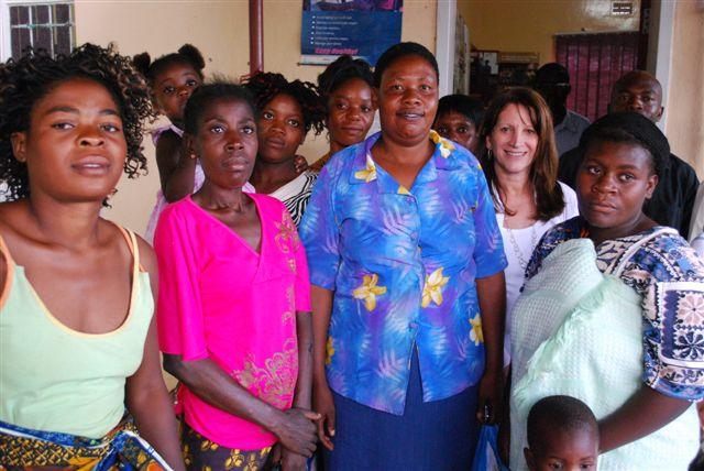 Women at the ASAZA center in Mazabuka, Zambia