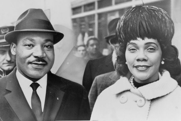 Coretta and Martin Luther King Jr.