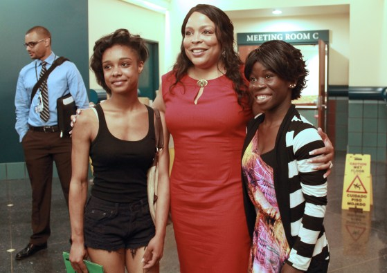 Loretta Smith with SummerWorks Interns