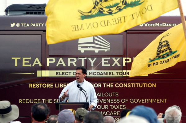 Tea Party Candidate Chris McDaniel