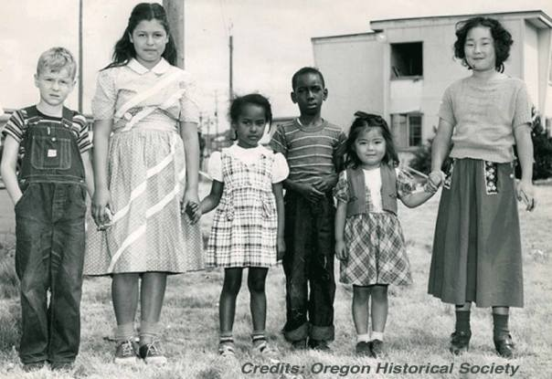 Children from Vanport