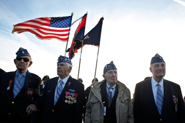 Veterans at D-Day