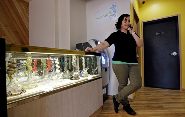 Amber McGowan at cannabis city