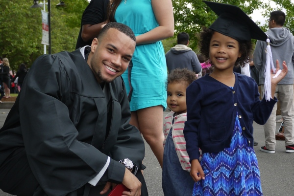 Pacific University Graduate with god-daughter