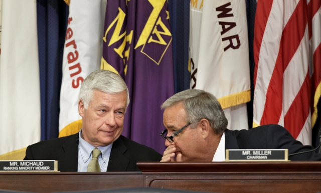 Rep. Jeff Miller with Rep. Mike Michaud