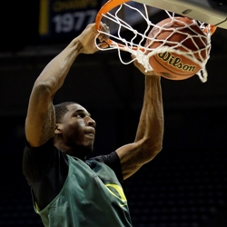 University of Oregon NCAA basketball player