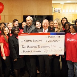 Bank of America Charitable Foundation selected the Urban League of Portland as its Neighborhood Builders winner
