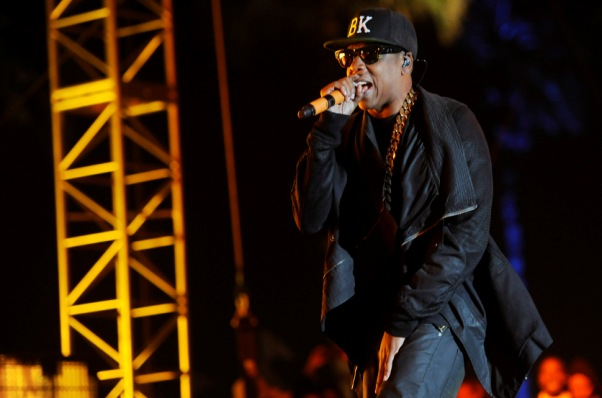 Jay Z performs at Coachella
