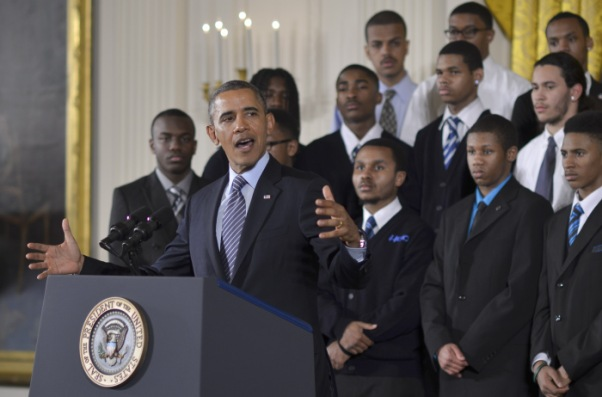 President Obama announces My Brother's Keeper initiative