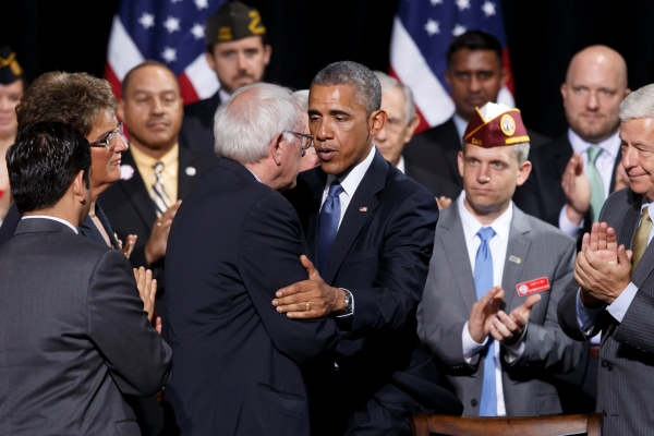 President Obama and Sen. Bernie Sanders