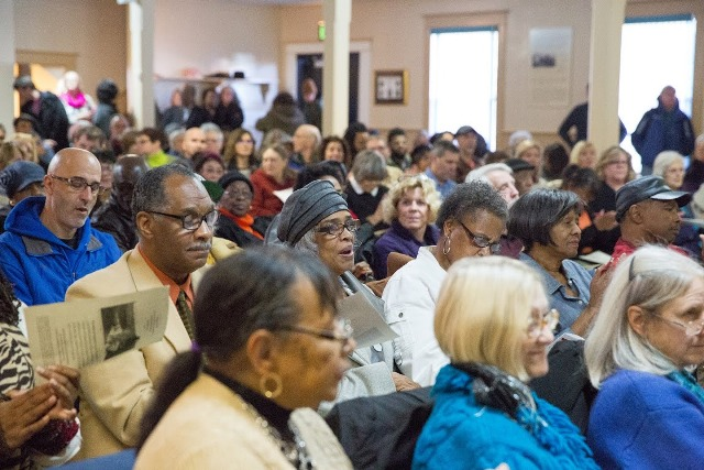 Hundreds packed the 'Wake of Vanport' screening