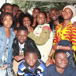 African students visit IRCO's Africa House