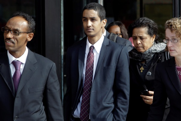 Robel Phillipos leaves court