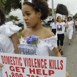 Barry University's first ever College Brides Walk