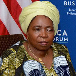 Dr. Nkosazana Dlamini Zuma is head of the African Union