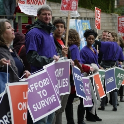 Fifteen Now! Campaign at Seattle City Hall