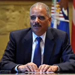 Attorney General Eric Holder speaks to The Associated Press