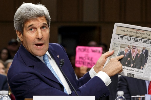 John Kerry testifies to Senate Foreign Relations Committee