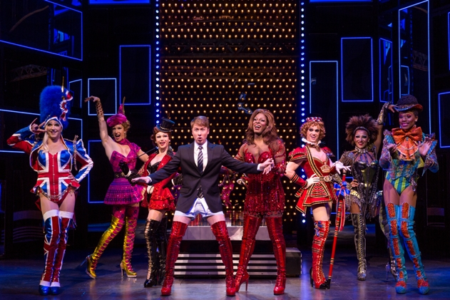 Cast of Kinky Boots