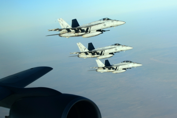 US warplanes on mission against Islamic State