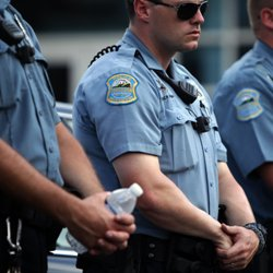 Ferguson police officers