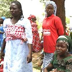 Mothers of kidnapped Chibok girls