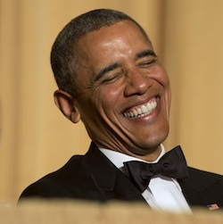 President Obama at 2014 White House Correspondent's dinner